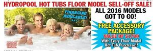 Hydropool Hot Tubs & Swimspas Floor Model Sell-Off Sale!