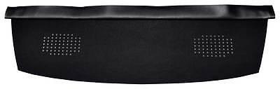 67-69 FIREBIRD CAMARO REAR DASH PACKAGE TRAY / BACK SEAT SHELF DELUXE MESH BLACK
