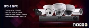 Security cameras and tv wall mount