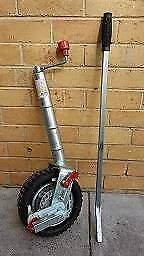 AL-KO Power Mover Ratchet Jockey Wheel
