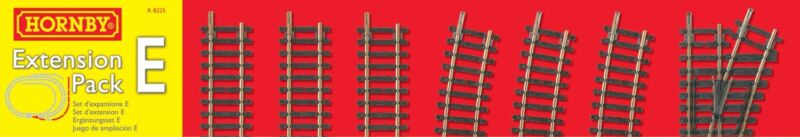 NEW Hornby R8225 Track Extension Pack E OO / HO Scale FREE US SHIP
