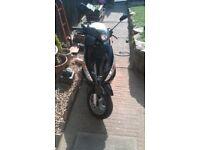 2004 peugeot elystar 125cc starts runs and rides great no mot bargain