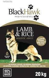 Black Hawk Dog Food 3KG Lamb and Rice/ Chicken and Rice Bargo Wollondilly Area Preview