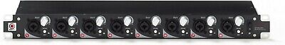 8 Channel Microphone Pre Amplifier - SMPRO Audio PR8E - 8 Channel Enhanced Microphone Preamp