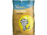 Best Pets Woodbase cat litter 30 litre