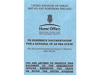 Permanent residence UK - Residencia permanente UK