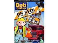 Children's DVDs Bob the Builder, Roary, Tractor Tom, Fireman Sam (5 dvds)