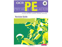 AS LEVEL OCR PE Text book with CD ROM Inside (Good condition) (Can post)