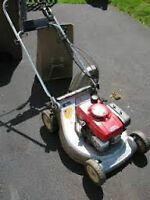 LAWNMOWERS/SERVICED