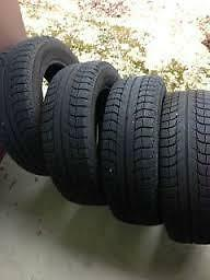 4 michelin x ice tires for sale 185/65/15 $200 , ,
