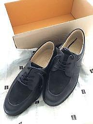 Ladies Black Ecco Lace-up shoes