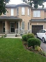 Town For Rent in Vaughan 3 Parking Spots- Finished Basements