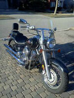 2003 Yamaha V Star 1100 Classic with Windshield
