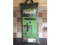 Green Parasol Cover - brand new
