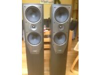 Mission M74 floor standing speakers : reasonable condition and price reduced!
