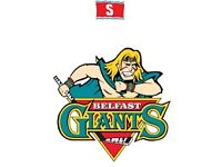Belfast Giants Tickets - VIP £25.00 for 2