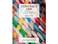 McKendrick: Contract Law - Text, Cases and Materials (6th Edn.)