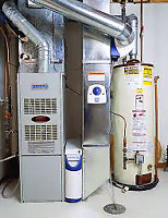 Furnaces and hot water tank installs