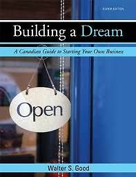 Building a Dream A Canadian Guide to Starting Your Own Business Windsor Region Ontario image 1