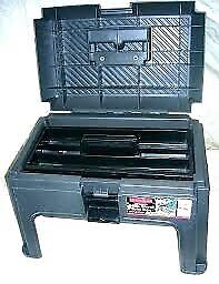 Rubbermaid Step Stool with Toolbox (New)