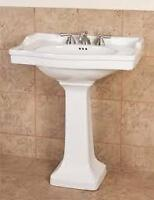 Victorian style Pedestal Sink