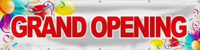 Wall26 Grand Opening Banner Sign Store Signs Flag - 24x96