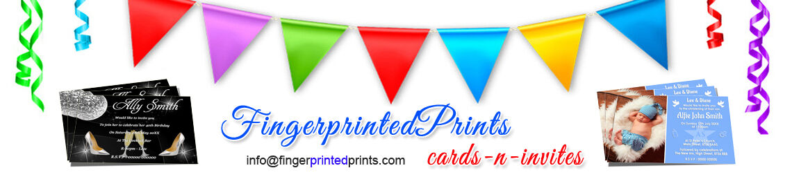 FingerprintedPrints Cards n Invites