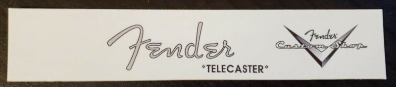 Fender Telecaster w/ custom shop headstock waterslide decal