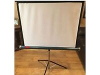 Vintage Retro Prinz Projector Stand and Starlight Screen