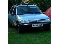 Peugeot 205, 1124CC Petrol, 5DR, Manual 1992