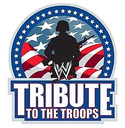 WWE TRIBUTE TO THE TROOPS 2003-2017 COMPLETE ON DVD