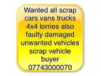 Huddersfield Always buying 7 days a week all scrap vehicles