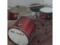 Small size drum kit