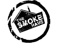 Waiting & Bar Staff Needed - The Smoke Haus, Cardiff