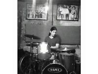 Drummer Available for Remote Recording Sessions & Drum Programming
