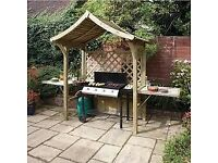Barbecue Arbour. New. Flatpack. One only.