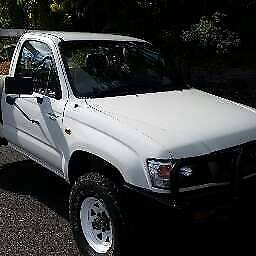 2004 Toyota Hilux Ute 4WD Burleigh Heads Gold Coast South Preview