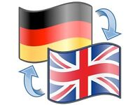 English - German translations and proof reading
