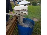 Johnson Deluxe 4HP Outboard Engine