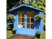 Sheds and summerhouses for sale , delivered and assembled ,Dundee, Perth