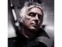 2x seated Paul Weller tickets for sale