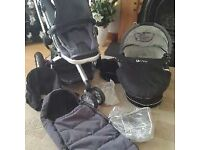 Quinny Buzz pram/stroller and carrycot