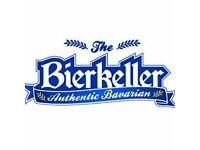 Part time Bar/Waiting Staff at Bierkeller WANTED!!
