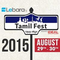 FREE FESTIVAL This Weekend Tamil Fest!!!!!!