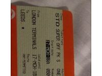 Cheap T1CKET LDN TO LEEDS