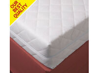 2 SMALL SINGLE BED MATTRESS PROTECTORS AND FITTED SHEETS FOR  MOTORHOME/CARAVAN