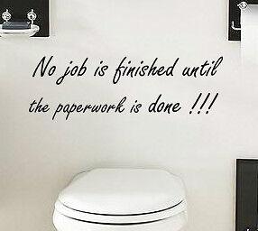autocollant drle pochoir pochoir citation mur art autocollant vinyle salle de bains wc tuile - Stickers Tuile Vinyle Salle De Bain