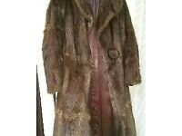 Vintage Mink Full Length Fur coat