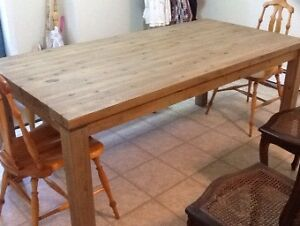 Verona dining table (Jysk) with leaf