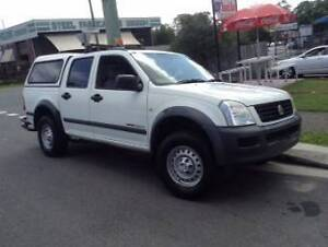 2007 Holden Rodeo Ute dual cab turbo diesel 4x4 Springwood Logan Area Preview